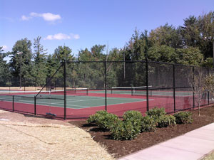 Tennis Court Fence