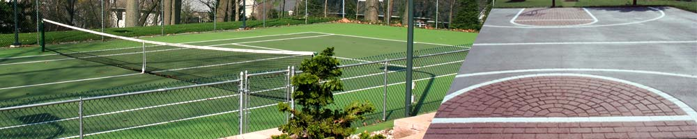 Tennis/Basketball Courts
