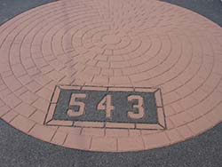 Paved House Number