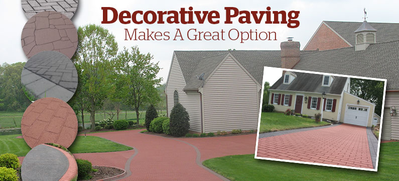 Decorative Paving Makes A Great Option